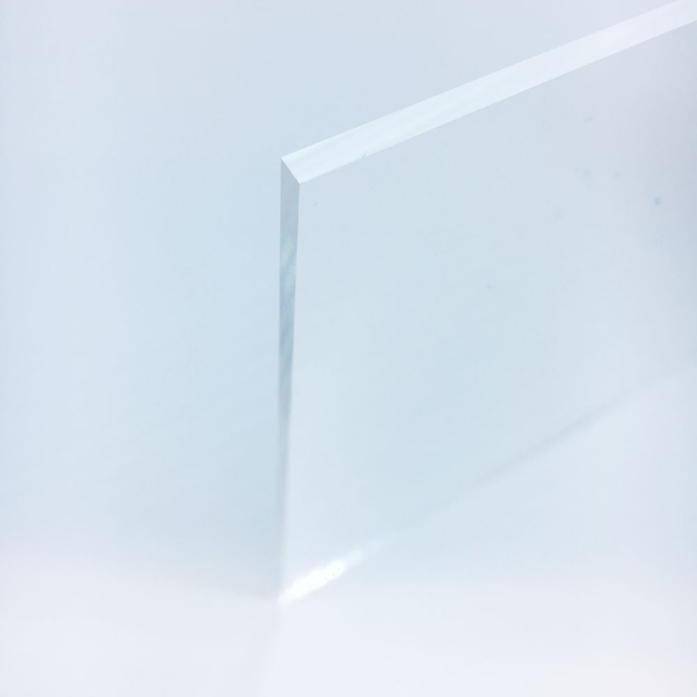 5mm Clear Perspex 174 Acrylic Sheet Edge Polished