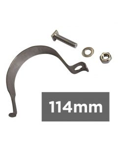 "114mm - 4 1/2"" Sign Post Clip"