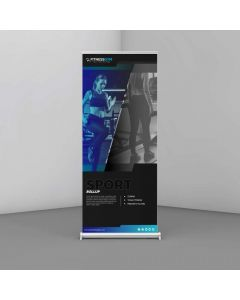 420gsm Lay Flat Roller Banner Material - 914mm wide