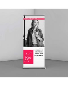 320gsm Lay Flat Roller Banner Material - 914mm wide
