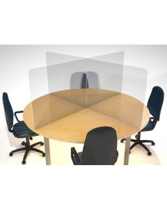 5mm Acrylic Desk Screen Dividers - COVID-19 Secure office screens