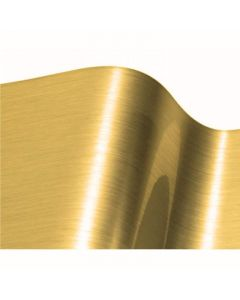 Fine Brushed Gold Chrome - VinylEFX Durable