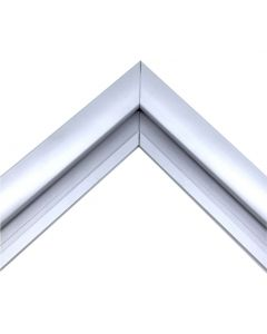 Silver Sign Frame Kit - 3mm ACM Panel Trim