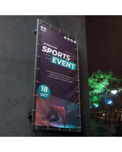 450gsm PVC Frontlit Coated Banner - High Strength