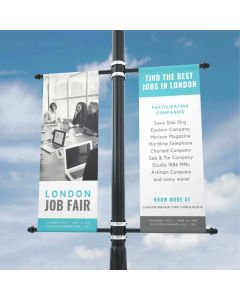 550gsm PVC Double Sided Blockout Banner - High Strength
