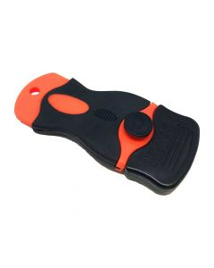 Orange Fixed Blade Scraper