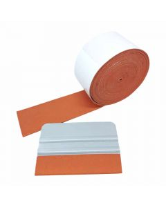 Orange Suede Squeegee Roll - 5M