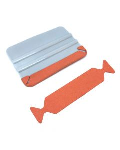 Orange Suede Squeegee Wings - Pack 50