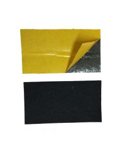 Black Felt Replacement Squeegee Pads - 10 Pack