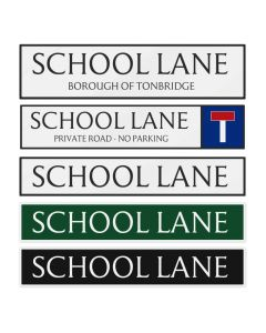 UK Street Name Signs