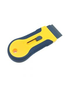 Retractable Razor - Yellow Window Scraper