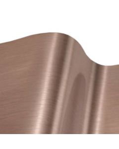 1220mm Brushed Rose Gold