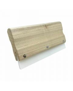 21cm Wooden Handle Rubber Squeegee