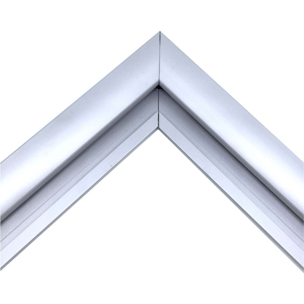 Silver Sign Frame Kit 3mm Panel Trim