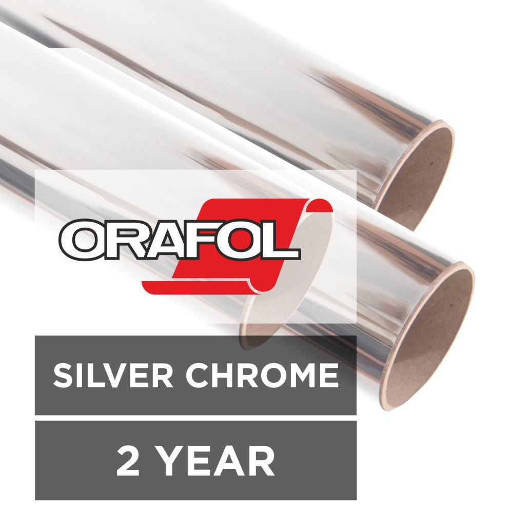 Oracal 351 Silver Chrome Metallised Film Sign Trade Supplies